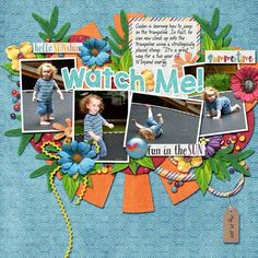 Layout using {Sunkissed} Digital Scrapbook Kit by Bekah E Designs available at The Digichick http://www.thedigichick.com/shop/Sunkissed-Bundled-Collection.html #bekahedesigns