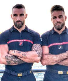 Hairy Men, Bearded Men, Hot Guys Tattoos, Rugby Men, Hot Cops, Hunks Men, Beautiful Men Faces, Hommes Sexy, Beard Tattoo