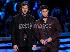 Jared Padalecki and Jensen Ackles at People's Choice Award 2013