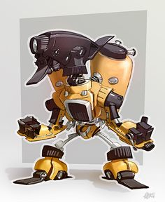 Robotized: Atomizator by ~theartofraku on deviantART