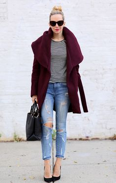 Skinny Jeans and Stripes by BrooklynBlonde1, via Flickr