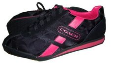 !@Best Buy Coach 12CM Signature Luckie Athletic Sneaker Tennis Shoes A1788 Black/Magenta Pink    Price: $108.00    .Check Price >> http://loanoneday.com/sale/landingpage.php?asin=B008PIX32G