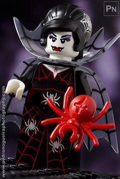 """Series 14 - Spider Lady"" Minifigures Series 14 My LEGO. Pedro Nogueira Photography."