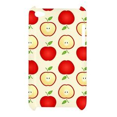 iPod 4 Cute Apple Pattern iPod Touch 4 4G 4th Hardshell Case Cover