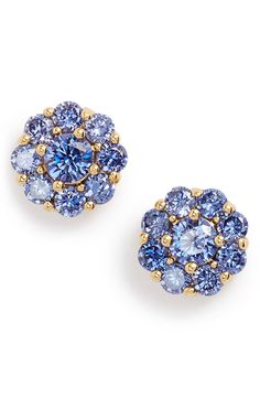 Loving these sparkly flower stud earrings by Kate Spade.