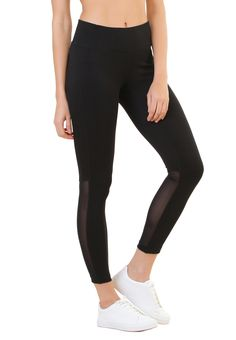fba996c429bfd Silvertraq Performance Mesh Leggings Mesh Tights for yoga, running, dance  zumba, workout.