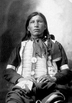 Native American warrior.