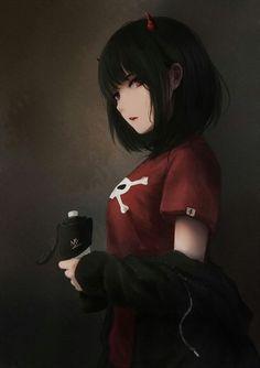 girl Anime pictures and wallpapers search Anime Neko, Kawaii Anime Girl, Manga Kawaii, Chica Anime Manga, Otaku Anime, Anime Amor, Dark Anime Girl, Manga Girl, Cool Anime Girl