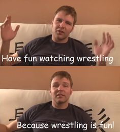 Jon Moxley on wrestling.