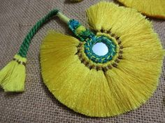 Items similar to Large Gypsy Tassel ~ Drum Tassels, Indian Ethnic Home Decor, Tribal Belly Dance Tassels, Rainbow Festival Tribal Pixie Earth Felted on Etsy Saree Tassels Designs, Saree Kuchu Designs, Tassel Purse, Diy Tassel, Textiles, Rakhi Making, Indian Gowns Dresses, Hand Embroidery Designs, Baby Embroidery