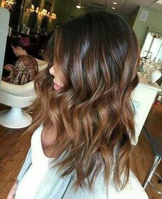 Mechas ombre para cabellos castaños - Beauty and fashion ideas Fashion Trends, Latest Fashion Ideas and Style Tips