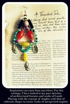 Statement earrings by Anita Quansah London Statement Earrings, Drop Earrings, London, Handmade, Jewelry, Jewerly, Hand Made, Jewlery, Schmuck