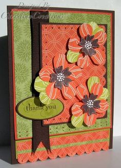 CC187 Tropical Thanks by ChristineCreations - Cards and Paper Crafts at Splitcoaststampers