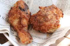 Ridiculously good Southern fried chicken