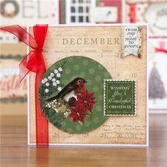 Get Ready For Christmas Handmade Christmas, Christmas Crafts, Christmas 2016, Christmas Ideas, Fall Cards, Xmas Cards, Christmas Card Decorations, Craftwork Cards Christmas, Card Making Tutorials