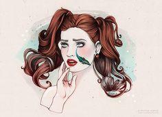 "Cristina Alonso Valencia, Spain ""Crocodile Tears"" Visual Metaphors on Behance"
