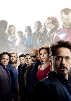 The Avengers!!!!!!!!!