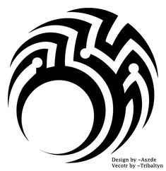 all credit for the design goes to ~Aszde I merely did the vector Done with permission from ~Aszde See it as a little intresting vector practice ^^ Tribal: The Circle Tribal Tattoos For Men, Tribal Tattoo Designs, Unique Tattoos, Tattoos For Guys, Seal Tattoo, Tattoo Brazo, Totem Tattoo, Shiva Tattoo Design, Symbolic Art