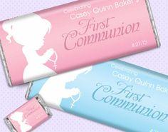 Custom 1st Communion Chocolate Favors