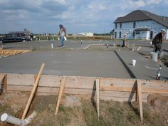 Almost done on the concrete!