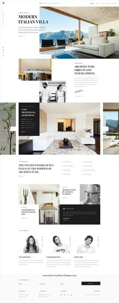 Zodiac is clean and modern design multipurpose PSD template for creative #architect #agency website with 8 niche homepage layouts and 56 layered PSD pages to live preview & download click on Visit #psdmockups