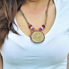 Moje zboží / data vložení, ne, dostupné Crochet Necklace, Jewelry, Fashion, Crochet Collar, Jewellery Making, Moda, Jewelery, Jewlery, Fasion