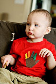 Turkey Handprint Shirt 1