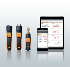 Smart phone - Smart Probes - Smart work with Testo Smart HVAC Wireless HVAC Instruments. Now on Sale at: http://www.testersandtools.com/accessories-and-parts/testo-smart-probes.html