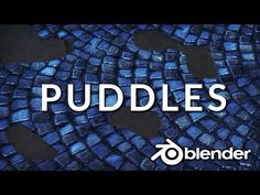 (15) Make Water Puddles Fast (Blender Tutorial) - YouTube