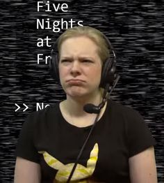 Hannah is not happy
