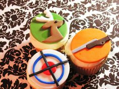 Deer Hunting Cupcake toppers for your by AppleBlossomCupcakes, $32.00