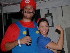 Mario & tough gal