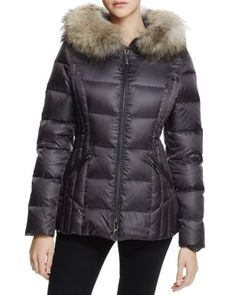 bad3e994fc0dbd Dawn Levy Nikki Fur Trim Short Down Coat Women - Bloomingdale s