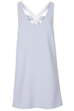 3fc1626a9964da Bow Back Crepe Shift Dress