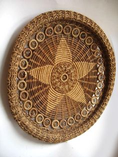Handcrafted, Objective Pine Needle Art Basketry & Chair Caning