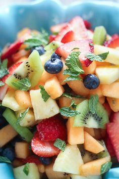 Best Ever Boozy Fruit Salad - The Wanderlust Kitchen