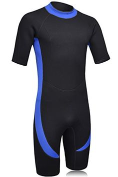 DEHAI Wetsuits Men's 3mm Premium Neoprene Shorty Jumpsuit Reactor Full Suit Spring for Diving Snorkeling Swimming - Large  http://fishingrodsreelsandgear.com/product/dehai-wetsuits-mens-3mm-premium-neoprene-shorty-jumpsuit-reactor-full-suit-spring-for-diving-snorkeling-swimming/?attribute_pa_size=large  ★ FEATURES:UPF 50+ UV Protection Helps Shield you From the Sun's Harmful Rays. Quick-drying Fabric,Super Stretch Fabric Provides for Exceptional Flexibility,comfortabl