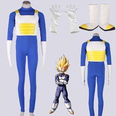Dragon Ball Z Vegeta Super Saiyan Cosplay Costume ver.3 Bulma Armor $95.15