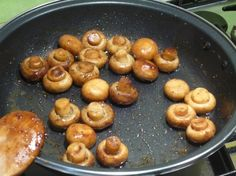 Champignons au balsamique et polenta grillée : la recette facile