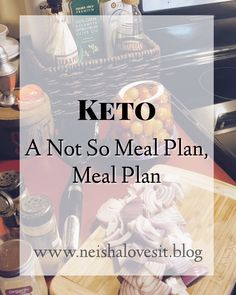 See how we eat keto. Nothing fancy. Just us