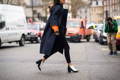 On the Streets of London Fashion Week Fall 2014 - London Street Style-Wmag