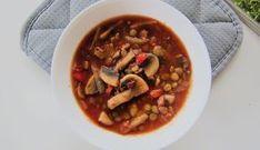Rozgrzewająca zupa z zieloną soczewicą Make Happy, Ratatouille, Chana Masala, Beef, Cooking, Ethnic Recipes, How To Make, Food, South Beach