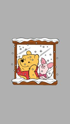 Pooh bear Cute Dog Wallpaper, Cute Patterns Wallpaper, Cute Disney Wallpaper, Aesthetic Pastel Wallpaper, Cute Wallpaper Backgrounds, Cartoon Wallpaper, Cute Wallpapers, Pooh Bear, Tigger