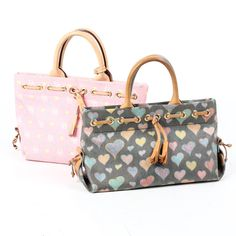 6339d248795e Two Dooney & Bourke Heart Bags $1 on EBTH Handbag Patterns, Fall  Fashions,