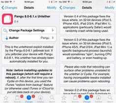 Pangu iOS 8-iOS 8.1 Untether 0.4 update fixes random app crashes on 32-bit devices - http://cdn.iphonehacks.com/wp-content/uploads/2014/11/cydia-pangu-untether.jpg https://askmeboy.com/pangu-ios-8-ios-8-1-untether-0-4-update-fixes-random-app-crashes-on-32-bit-devices/