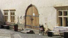 Travel to Făgăraș Fortress, Romania - Thursday Doors through History Wooden Fort, Secret Passage, Medieval Books, Religious Books, 12th Century, Middle Ages, Romania, Thursday, Culture