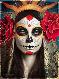 Catrina ( día de los muertos, Mexico)