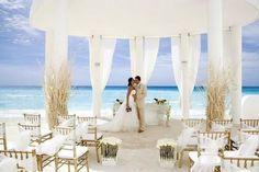 beach wedding setup beach summer