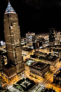 Don't talk smack about my city. I love Cleveland! Public Square, Key Tower in Cleveland, Ohio, USA Downtown Cleveland, Cleveland Rocks, Cleveland Scene, Cleveland Skyline, Cleveland Art, Cincinnati, Medina Ohio, The Buckeye State, Public Square