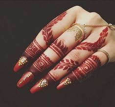 New Finger Henna Mehndi Designs - Kurti Blouse Latest Finger Mehndi Designs, Modern Mehndi Designs, Henna Art Designs, Mehndi Designs For Fingers, Beautiful Mehndi Design, Dulhan Mehndi Designs, Latest Mehndi Designs, Fingers Design, Mehandi Designs